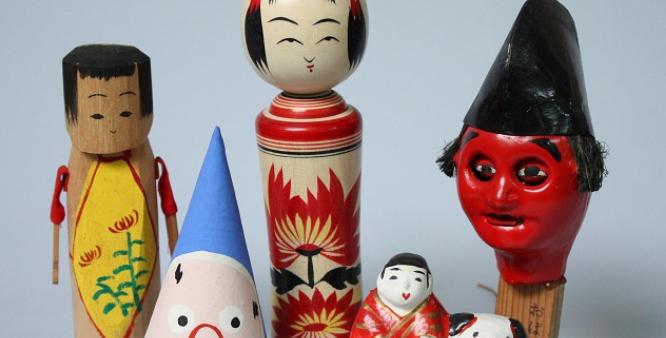日本の郷土玩具の写真