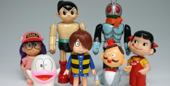 日本の近代玩具の写真