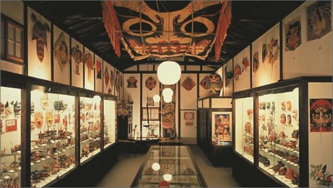 日本玩具博物館内部写真