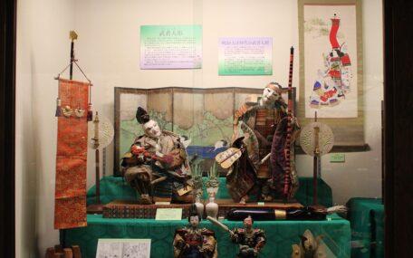 「端午の節句~武者人形と甲冑飾り~」の画像